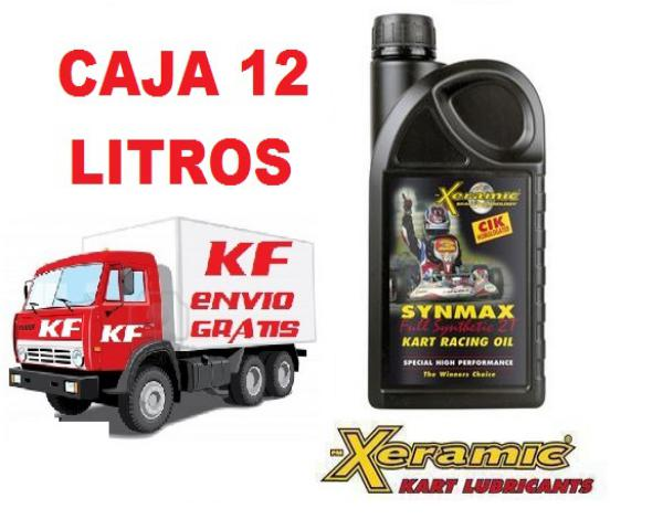 CAJA 12 LITROS XERAMIC FULL SYNTHETIC
