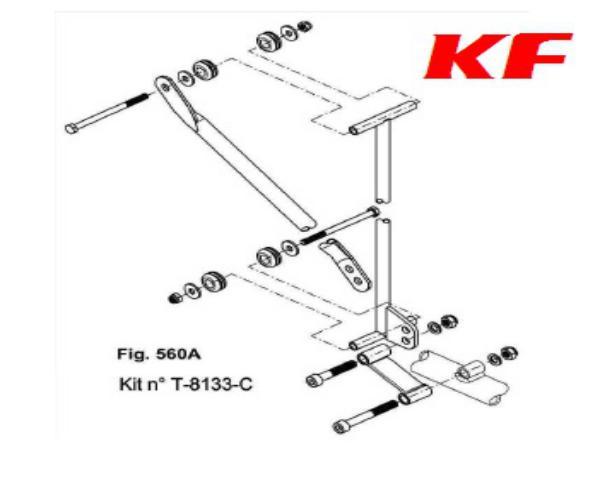 KIT SOPORTES RADIADOR X30