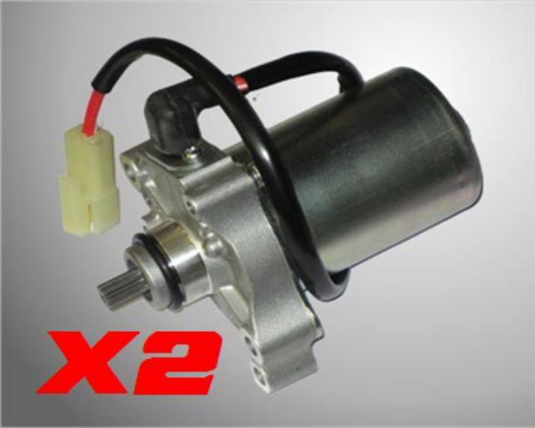 PACK 2 MOTORES ARRANQUE X30/LEOPARD/ROTAX MAX/PUMA 85