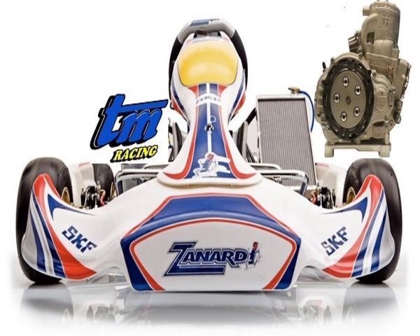 KART COMPLETO ZANARDI KZ1 2016+TM KZ10C