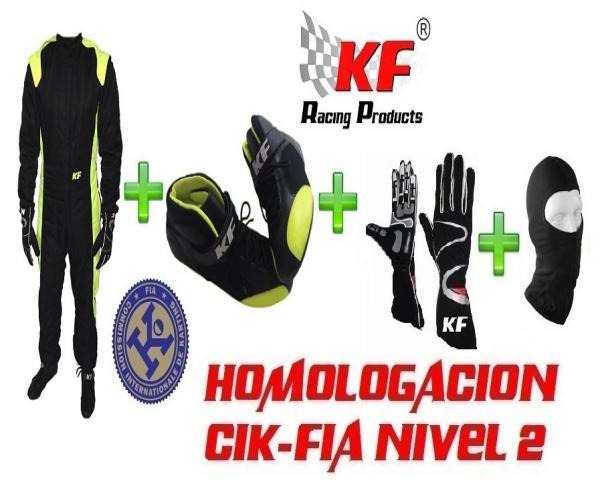 EQUIPACIÓN COMPLETA KARTING CIK/FIA EC-8
